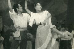 А.Крейн. Лауренсия, 1953г., Лауренсия - Л. Сахьянова, Фрондосо - Ц. Бадмаев