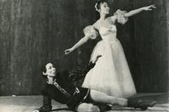 Жизель, 1955 г., Л.Сахьянова, Бадмаев