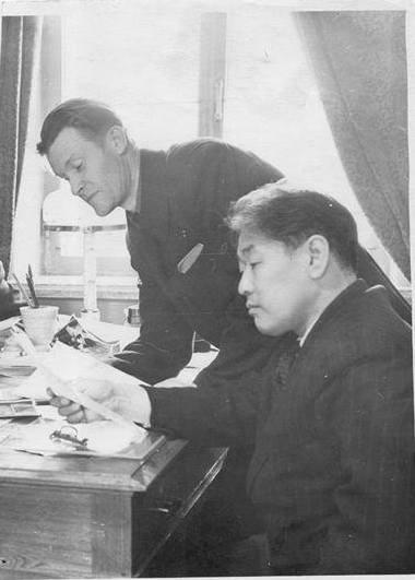 Г. Цыдынжапов и А. Тимин